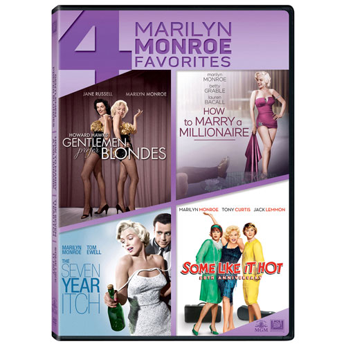 Marilyn Monroe Quad Features