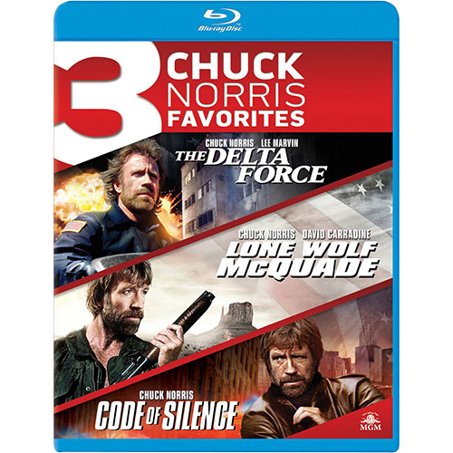 Delta Force/ Lone Wolf McQuade/ Code of Silence (Blu-ray)
