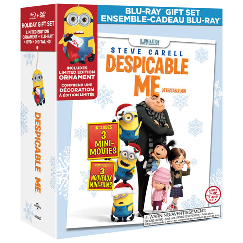 Despicable Me Gift Set (Combo Blu-ray)