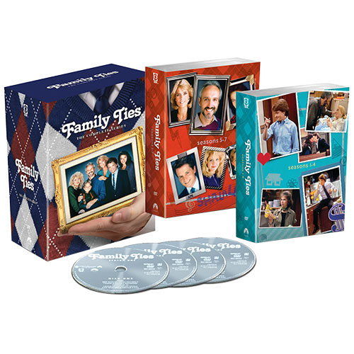 Family Ties: The Complete Series (Mega Pack)