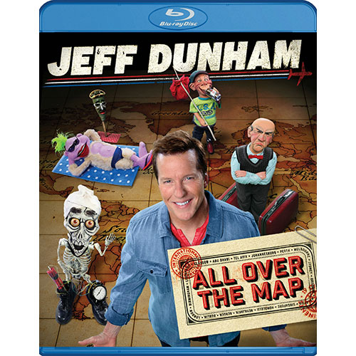 Jeff Dunham: All Over the Map (Blu-ray)