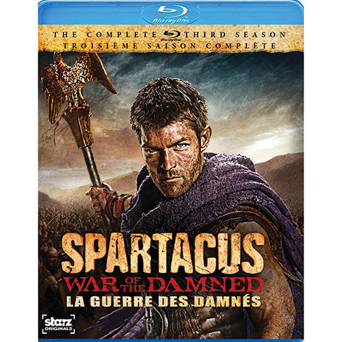 Spartacus War of the Damned (Bilingual) (Blu-ray)