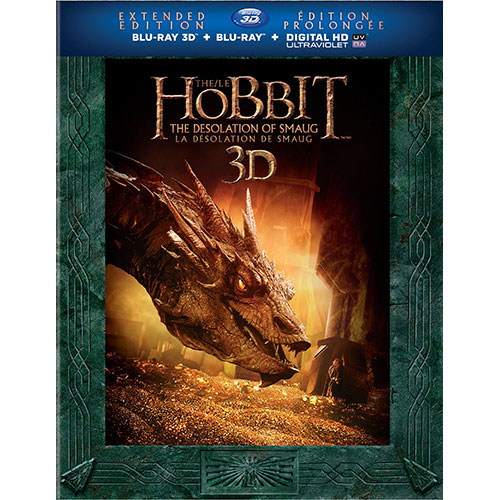 Hobbit: Desolation of Smaug (Extended Edition) (3D Blu-ray Combo)