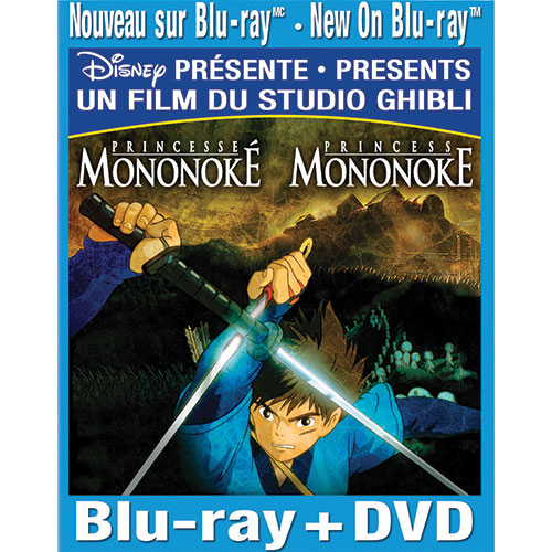Princess Mononoke (Français) (Combo Blu-ray)