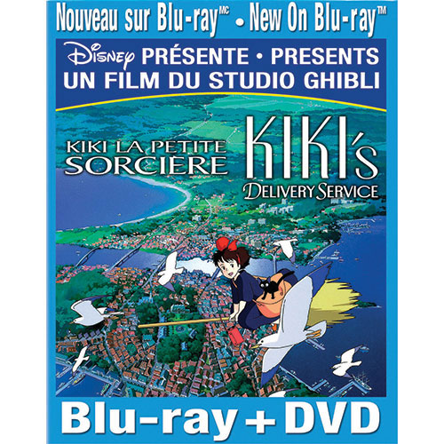 Kiki's Delivery Service (French) (Blu-ray Combo)