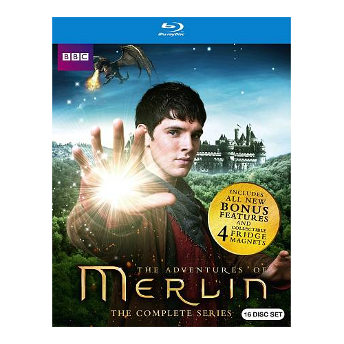 Merlin: The Complete Series (Blu-ray)
