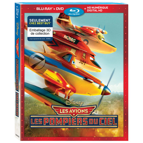 Planes: Fire And Rescue (Bilingue) (Seulement à Best Buy) (Blu-ray) (2014)