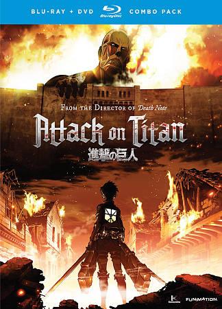 L'Attaque des Titans : Partie 1 (Combo Blu-ray)