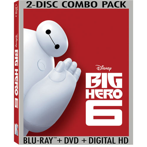 Big Hero 6 (Anglais) (Combo Blu-ray) (2014)