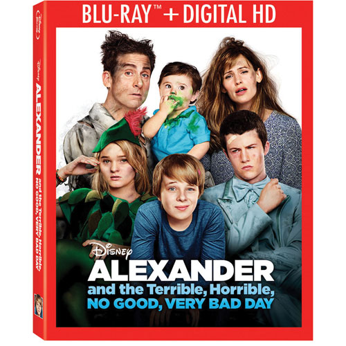 Alexander and the Terrible Horrible No Good Very Bad Day (Anglais) (Blu-ray) (2014)