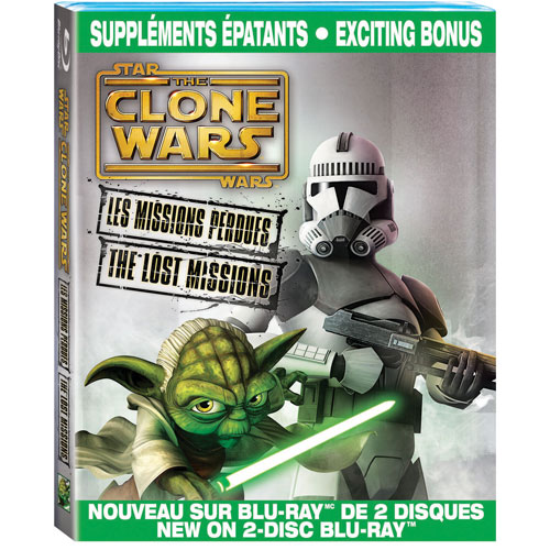 Star Wars: The Clone Wars: The Lost Missions (Français) (Blu-ray)