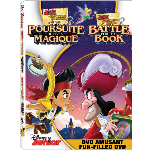 Jake and The Never Land Pirates: Battle For The Book (Bilingual) (2014)