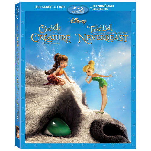 Tinkerbell and the Legend of the Neverbeast (French) (Blu-ray) (2015)