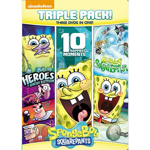 Spongebob Squarepants: 10 Happiest Moments/ Heroes of Bikini Bottom/ Legends of Bikini Bottom