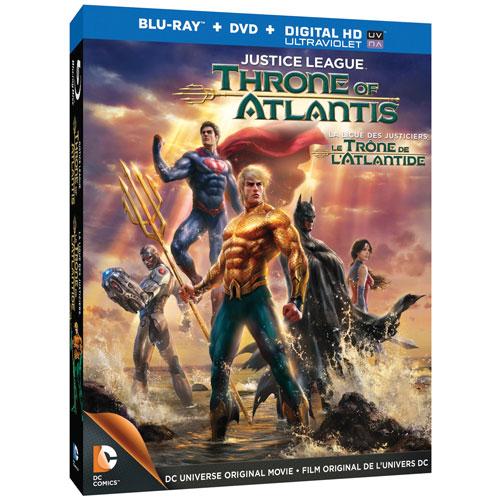 Justice League: Throne of Atlantis (Blu-ray) (2014)
