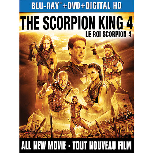 The Scorpion King 4: Quest for Power (Blu-ray Combo) (2014)