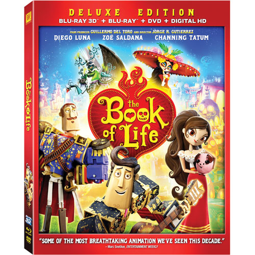 Book Of Life (3D Blu-ray Combo) (2014)