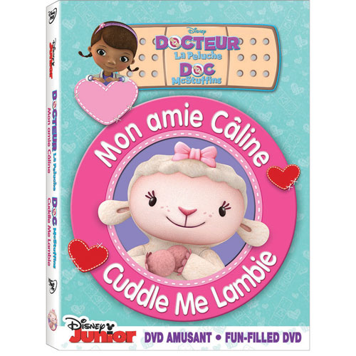 Doc McStuffins : Cuddle Me Lambie (Français)
