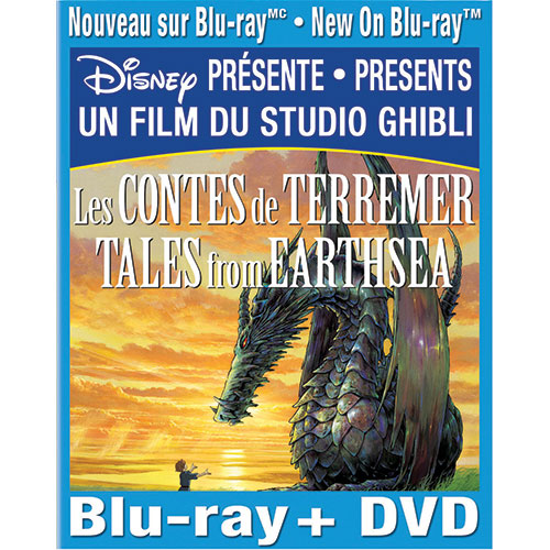 Tales from Earthsea (Français) (Combo Blu-ray)