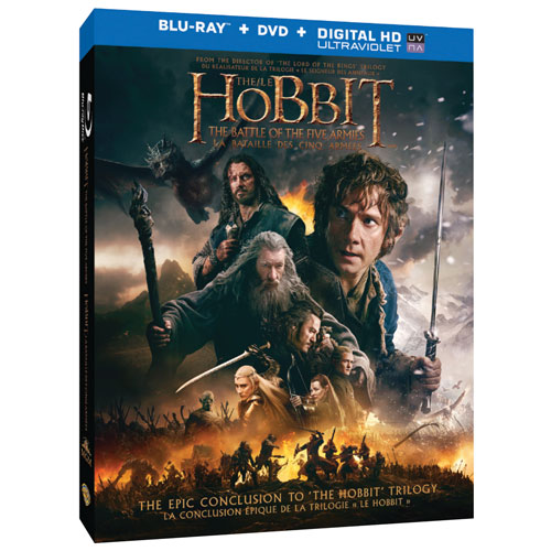 The Hobbit: The Battle of the Five Armies (combo Blu-ray) (2014)