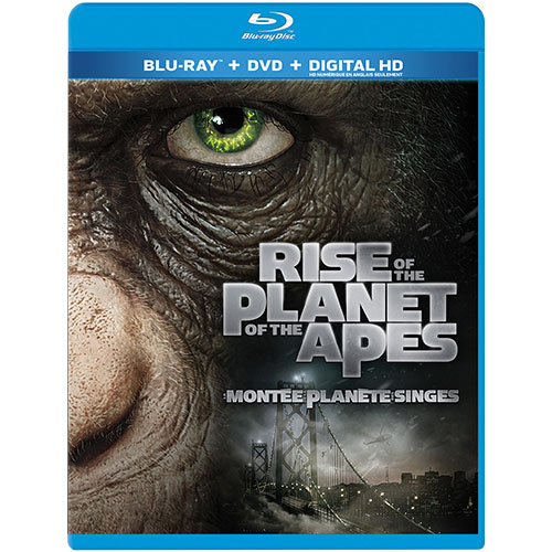 Rise of the Planet of the Apes (Combo Blu-ray)