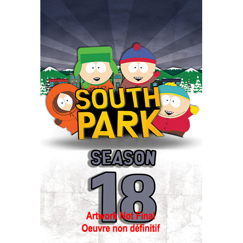 South Park : Saison 18 (Blu-ray)