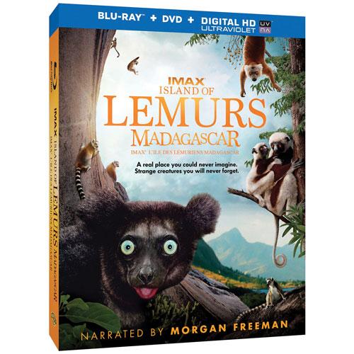 Island of Lemurs: Madagascar (Bilingual) (3D Blu-ray Combo)