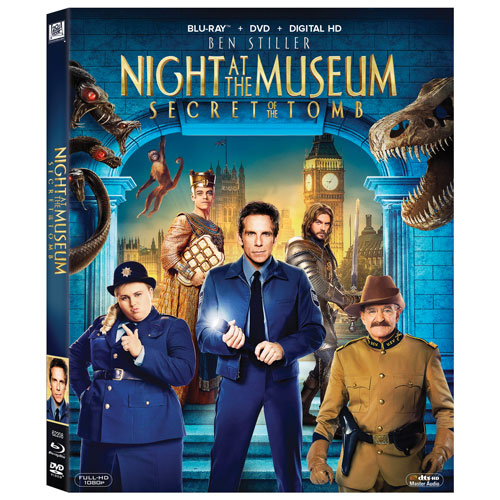 Night at the Museum: Secret Of The Tomb (Combo Blu-ray) (2014)