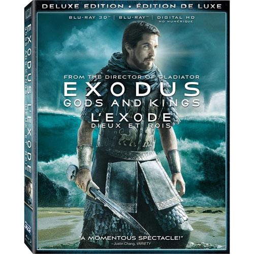 Exodus: Gods and Kings (3D Blu-ray Combo) (2014)