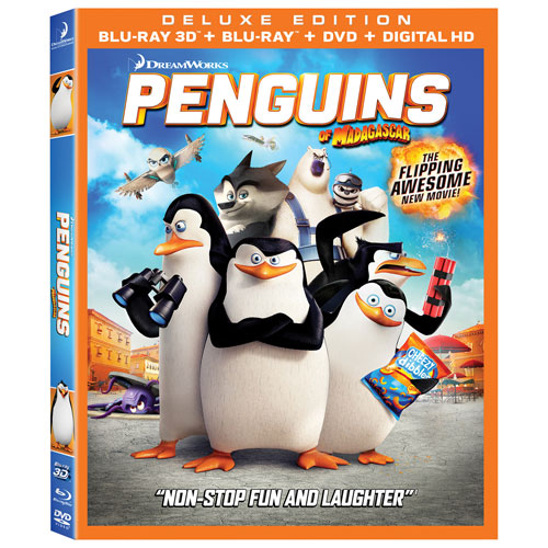 Penguins of Madagascar (3D Blu-ray Combo) (2014)