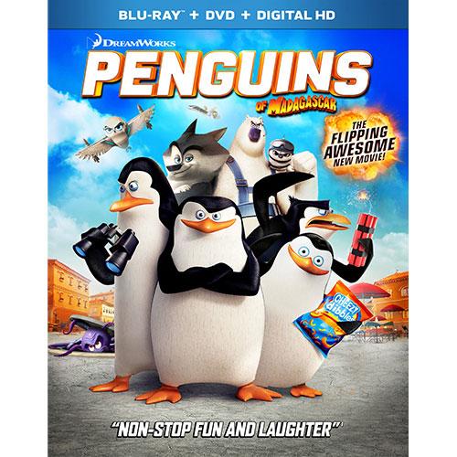 Penguins of Madagascar (Blu-ray Combo) (2014)