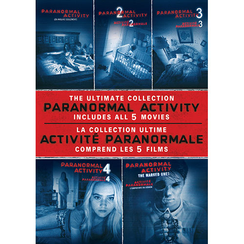 Paranormal Activity: Collection de 5 films