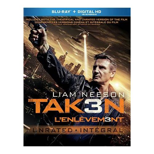 Taken 3 (Blu-ray) (2015)