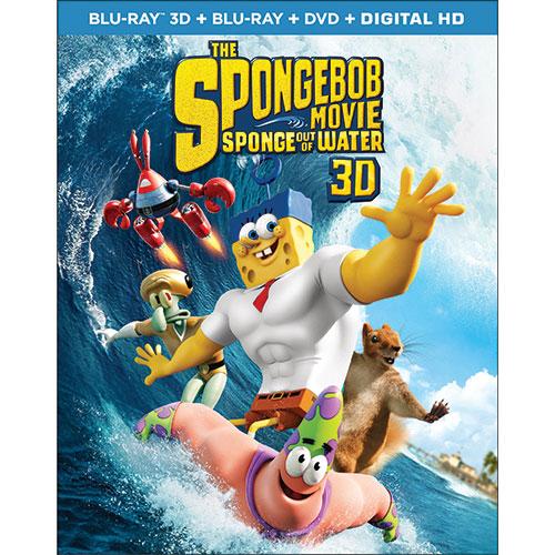 SpongeBob Movie: Sponge Out of Water (combo Blu-ray 3D) (2015)