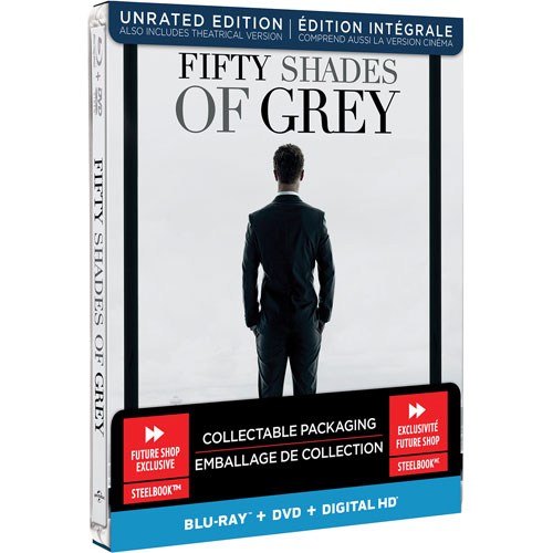 Fifty Shades of Grey (coffret SteelBook) (Seulement à Best Buy) (Combo Blu-ray) (2015)