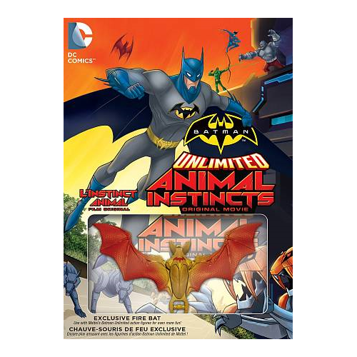 Batman Unlimited Animal Instincts (With Figurine) (DC Universe) (With Figurine)