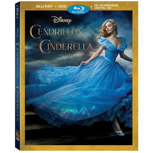 Cinderella (French) (Blu-ray Combo) (2015)