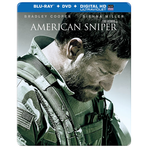 American Sniper (SteelBook) (Only at Best Buy) (Blu-ray Combo)