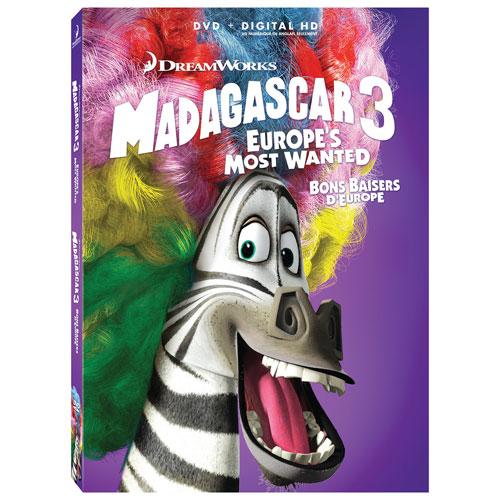 Madagascar 3 (Blu-ray Combo)