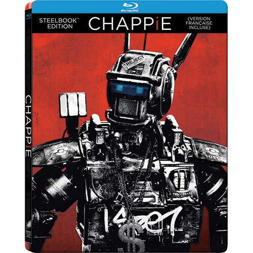 Chappie (Bilingue) (Steelbook) (Seulement à Best Buy) (Blu-ray) (2015)