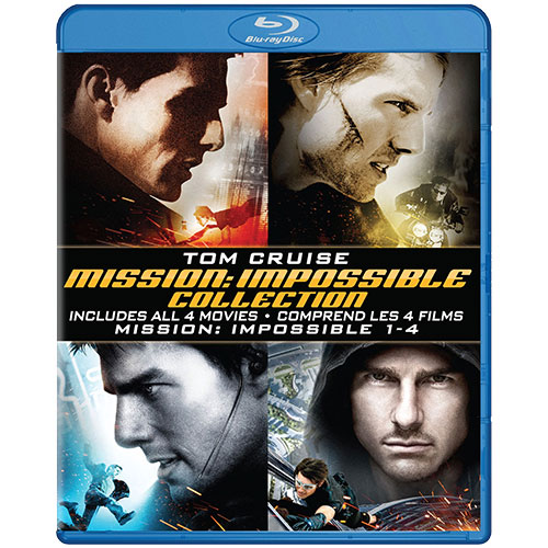 Mission: Impossible Quadrilogy (Blu-ray)
