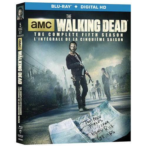 The Walking Dead: l'intégrale de la cinquième saison (Blu-ray)