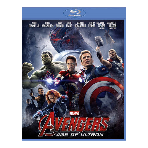 Avengers: Age of Ultron (anglaise) (Blu-ray) (2015)