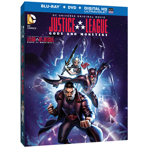 Justice League: Gods & Monsters (Blu-ray Combo)