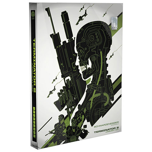 Terminator 2: Judgment Day (Mondo X SteelBook) (Only at Best Buy) (VARIANT EDITION) (Blu-ray) (1991)