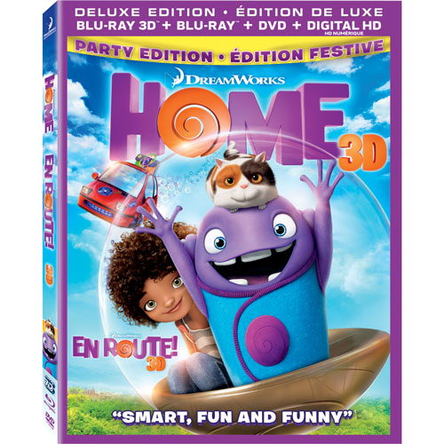 Home (3D Blu-ray) (2015)