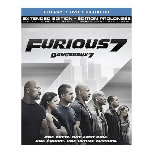 Furious 7 (Blu-ray Combo) (2015)