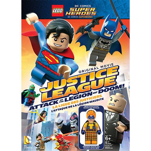 Lego DC: Justice League: Attack Legion Doom!(With Figurine) (DC Universe)
