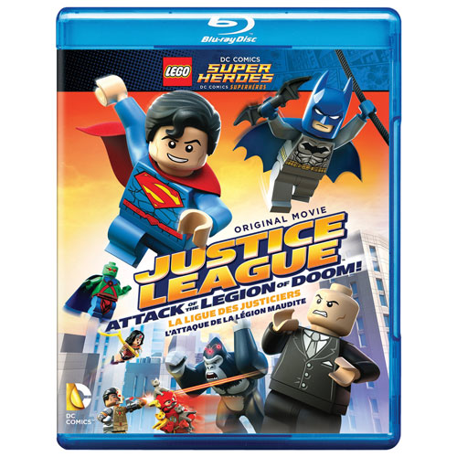Lego DC: Justice League: Attack Legion Doom! (DC Universe) (Blu-ray)