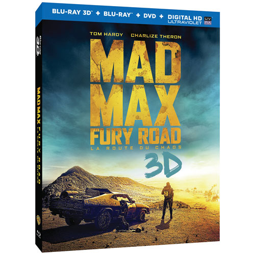 Mad Max: Fury Road (Blu-ray 3D) (2015)